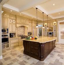 maple alpine windham door kitchen with island