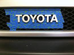 plasti dip spray paint grille transfer case shifter toyota fj
