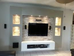 Best  Tv Unit Design Ideas On Pinterest Tv Cabinets Wall - Tiles design for living room wall