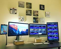 multi monitor day trading setup swingtraderz