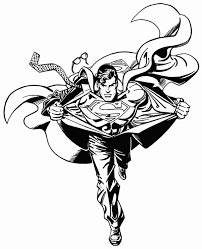 Superman Coloring Pages For Print Super Heroes Coloring Pages Of Superman Coloring Pages Print