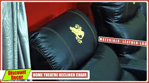 home theater recliner home theater recliner chair youtube