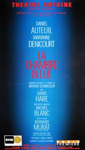 la chambre bleue la chambre bleue théâtre antoine