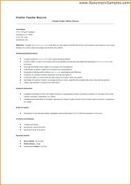 resume teacher resume sample doc india fresher resumes cover