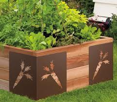 Wood For Raised Vegetable Garden by 153 Best Garden Raised Beds Images On Pinterest Gardening