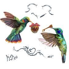 humming bird tattoo by girfreak8 on deviantart