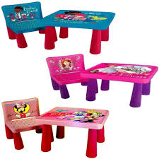 disney sit and colour drawing colouring art desk table chair play