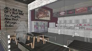 jr u0027s rib stop store restaurant design concept youtube