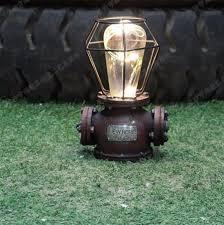 Mechanical Decor Creative Zakka Desk Lamp Edison Resin Industrial Light Mechanical