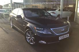 lexus sedan 2008 used 2008 lexus ls 600h l 5 0 4dr cvt auto for sale in derbyshire