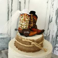 distinct western wedding cake toppers wedding cakes