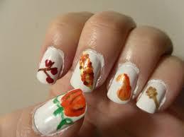 thanksgiving nail art nail art