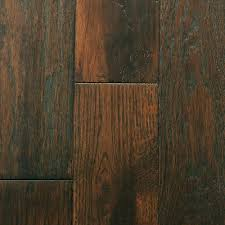 timberclick mocha oak wire brushed solid hardwood 5 8in x 4 5