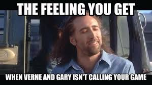 Gary Meme - gary danielson re stidham just stated he has serious issues with