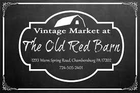 vintage market at the old red barn hunt for decor