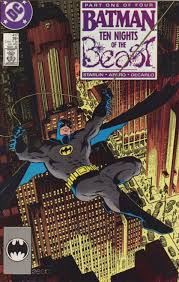 batman ten nights beast mike zeck batman
