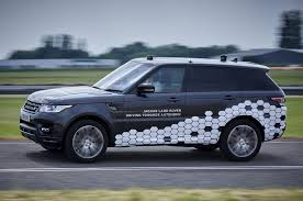 jaguar land rover logo jaguar land rover shows first fully autonomous range rover autocar