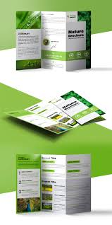 product brochure template free nature tri fold brochure template free psd psdfreebies