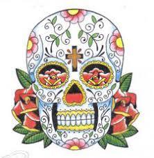 day of the dead skull by heathersvisualdesign on deviantart