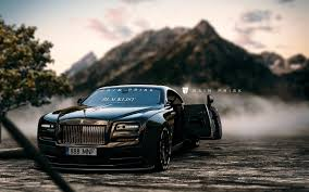 rolls royce wraith modified rain prisk