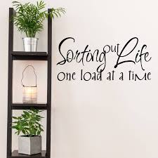 sorting out life quote wall sticker by mirrorin sorting out life quote wall sticker