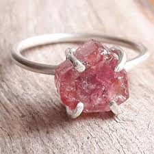 pink crystal rings images Best rough crystal rings products on wanelo jpg