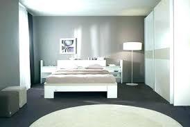 chambre couleur grise couleur grise tete de lit tableau peinture murale couleur cool