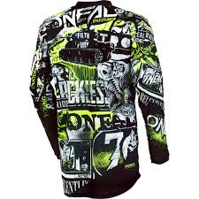 oneal element motocross boots new oneal 2018 mx element attack black hi viz jersey pants