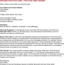 pilot trainee cover letter