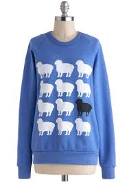 mindy kaling sheep sweatshirt modcloth only ewe sweatshirt