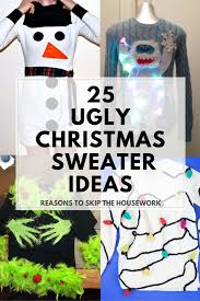 ugly christmas sweater ideas ugliest christmas sweaters and