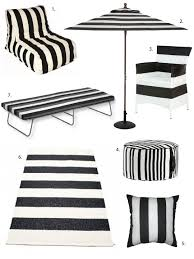 Black And White Patio Furniture Best 25 Black And White Furniture Ideas On Pinterest White