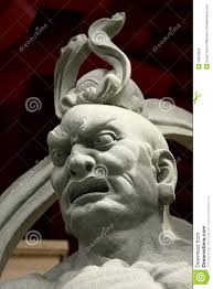 God Statue by Chinese Temple God Statue Stock Photos Image 13992853