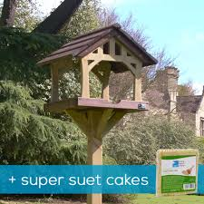 Bird Table L Country Barn Bird Table Suet Cakes Offer Rspb Shop