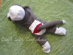 Sock Monkey Costume Craft With Confidence Baby Sock Monkey Costume