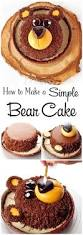 How To Decorate Cake At Home Best 25 Bear Cakes Ideas On Pinterest Teddy Bear Cakes 3d Cake