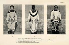 eskimo inuit halftone collection 1916 tagged