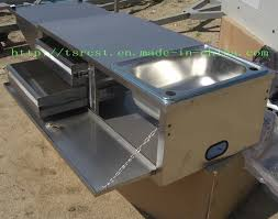 awesome stainless steel camper trailer kitchens 41 for decorating