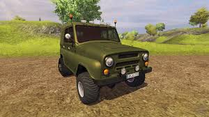 uaz hunter tuning uaz 469 for farming simulator 2013