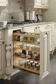 Pull Out Kitchen Shelves by Best 20 Spice Cabinet Organize Ideas On Pinterest Small Kitchen