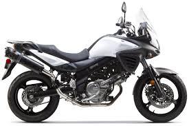 suzuki motorcycle black two brothers m2 black series exhaust system suzuki v strom 650