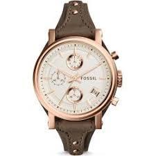 Jam Tangan Alba Emas f o fossil jam tangan wanita cokelat kulit fossil es3818 1 0 small jpeg
