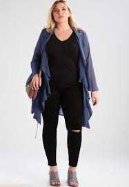 lost ink plus summer jacket for women blue clothing 230370
