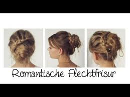 Hochsteckfrisuren Romantisch Anleitung by Romantische Flechtfrisur Mit Dutt