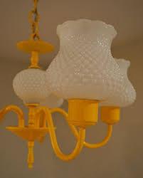 Hobnail Milk Glass Chandelier 9 Best Milk Glass Lighting Images On Pinterest Glass Lights