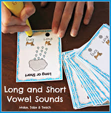 8 hands on activities for teaching long and short vowel sounds