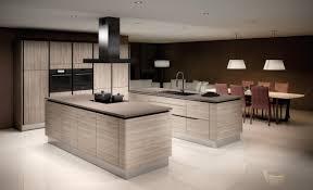 modern kitchen inspiration cuisine équipée référence cuisine design en mélaminé structuré