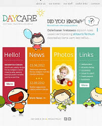 daycare brochure template free daycare flyer templates fieldstation co
