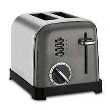 White Toaster 2 Slice 2 Slice Classic Metal Toaster