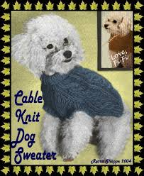 60 best knitted dog sweater patterns images on pinterest dog